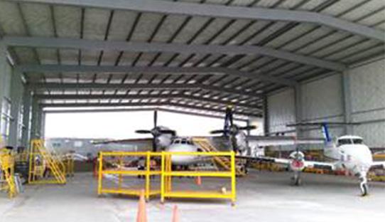 Hangares para Aeronaves